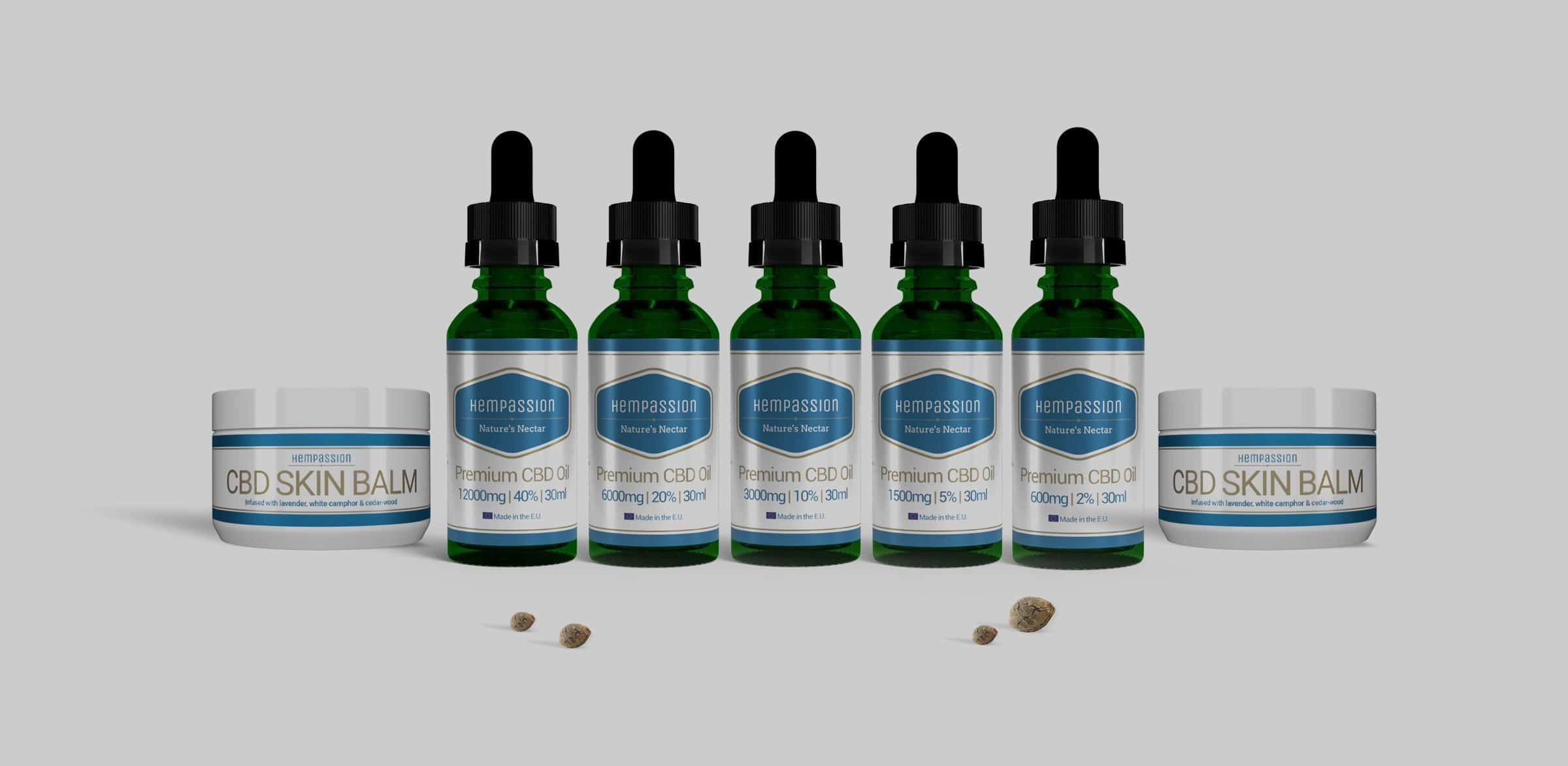 Hempassion – CBD Oil, CBD E-Liquid and CBD Hemp Based Products – Slider 2